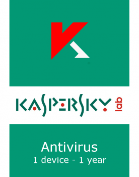 Kaspersky Anti-Virus Brazilian Edition. 1-Desktop 1 year Base Download Pack